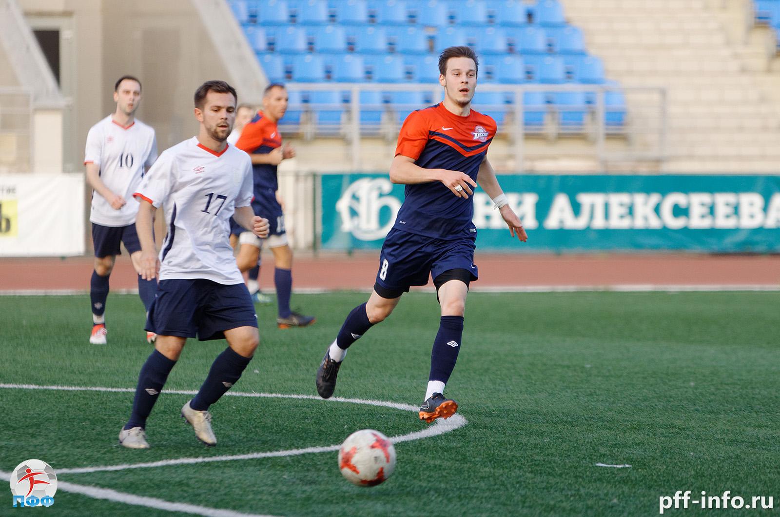 Подходит к концу первый этап Чемпионата Подольска по футболу