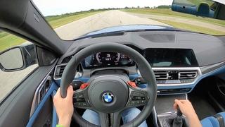 2021 BMW M4 6MT - POV Track Drive (Gingerman Raceway)