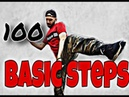 Top 100 Hip Hop Basic Steps by Vaho