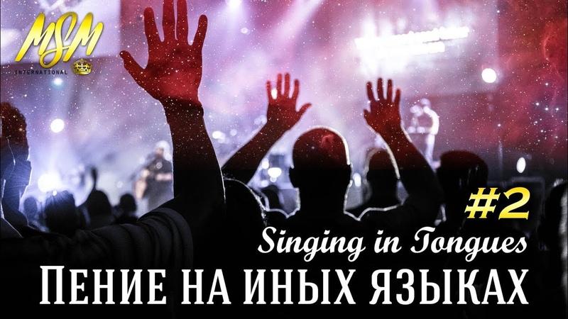 ПЕНИЕ НА ИНЫХ ЯЗЫКАХ 2 SINGING IN TONGUES Погружение в Славу Неба