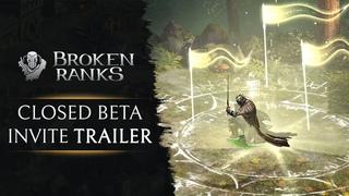 Broken Ranks - Closed Beta trailer