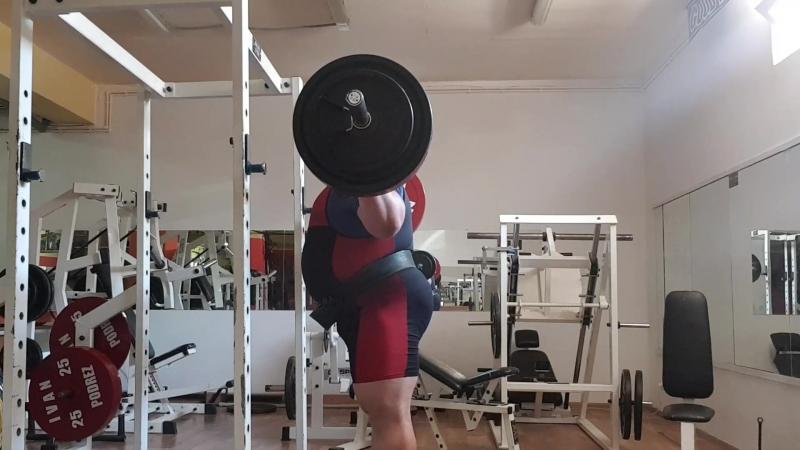 Лифтерский наклон 220 кг 3 по 3