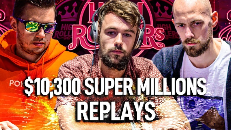 Super Millions $10 300 Schemion Chidwick Eibinger Final Table High Rollers Poker Replays