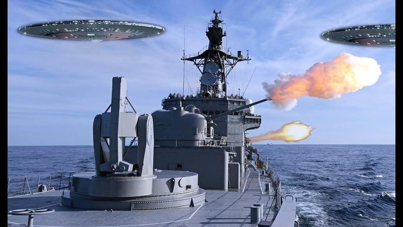 Люди Очнитесь НЛО атаковали военные корабли в Тихом океане База инопланетян в Марианской впадине