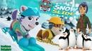 Щенячий патруль Снежный спуск Миссия спасение пингвинов и Джейка Мультик Для детей Весёлые КиНдЕрЫ