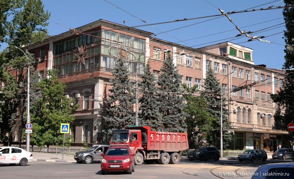 Советское здание в Саратове, 2020