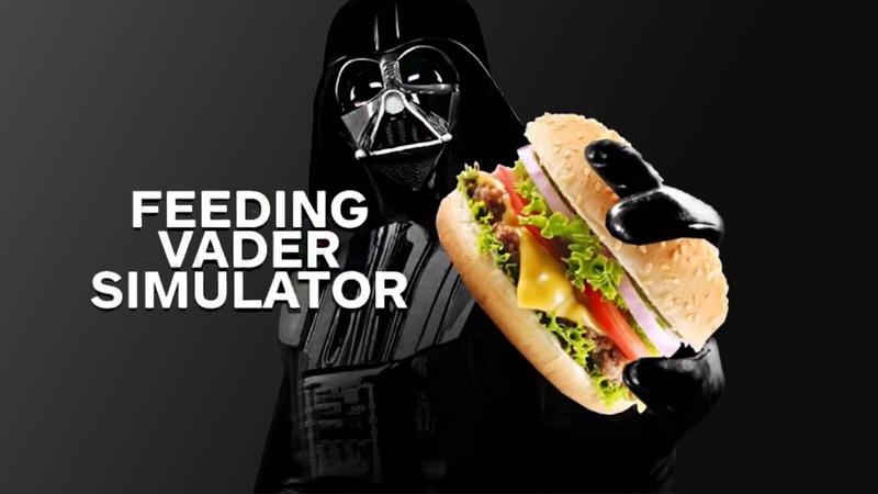 Main Menu Feeding Vader Simulator
