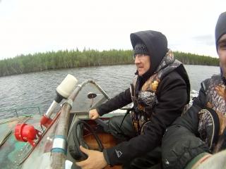Обкатка лодочного мотора Yamaha 30HWCS на лодке Обь-М, часть 2