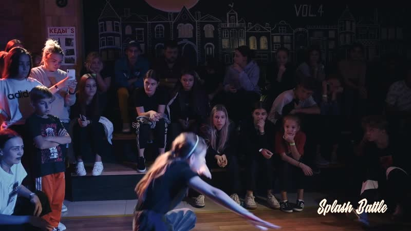 SPLASH BATTLE VOL4 _ HIP-HOP BEG _ Евгений vs Ангелина Шарапова