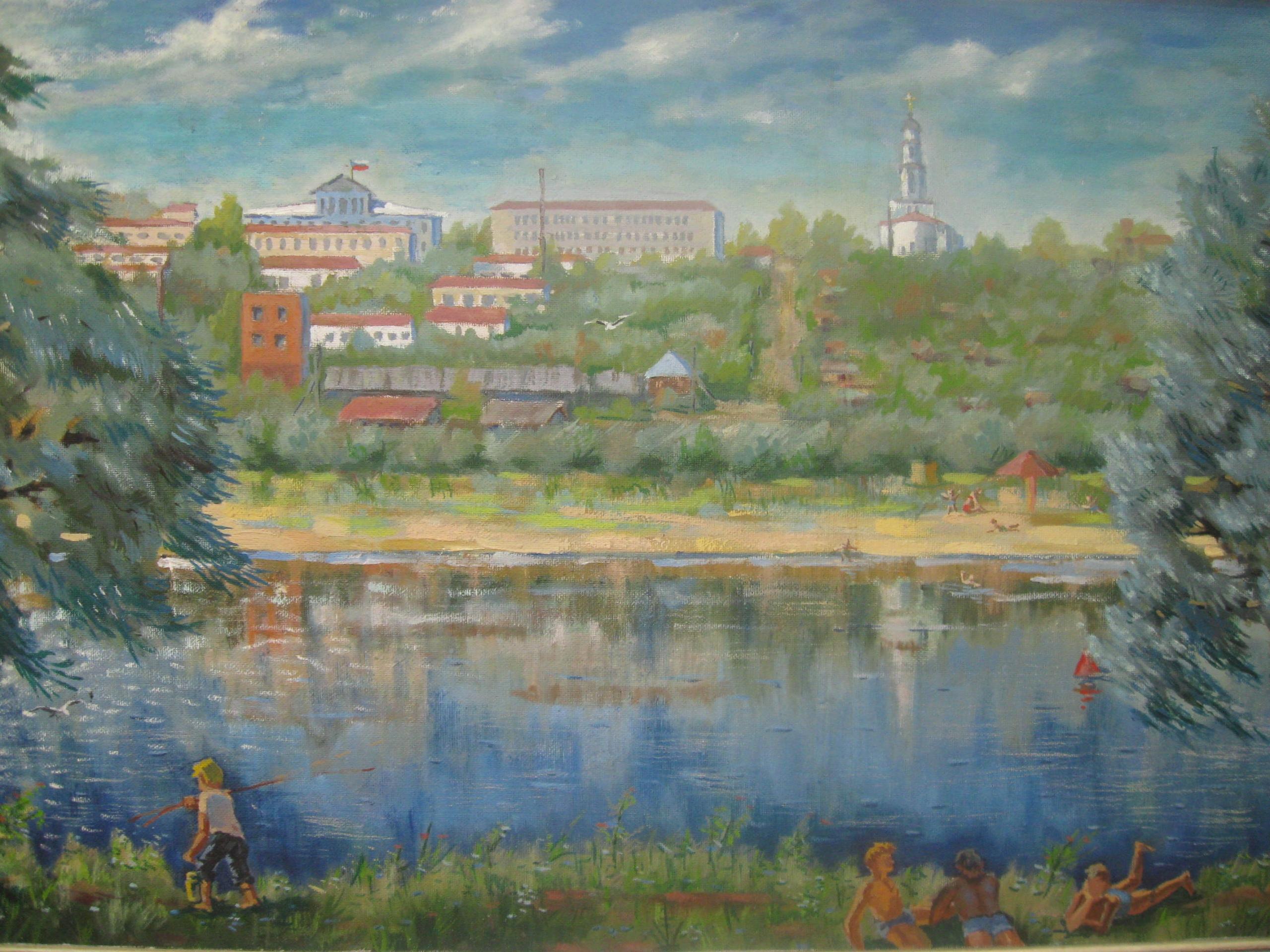 Ежегодную  культурно-образовательную  акцию «Ночь искусств»   районный историко-краеведческий  музей и картинная галерея  проводят в онлайн-формате