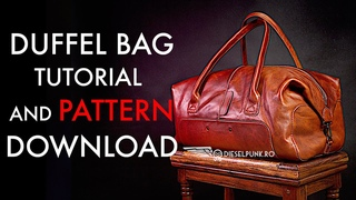 How to Make a Duffel Bag - Video Tutorial and Pattern Download