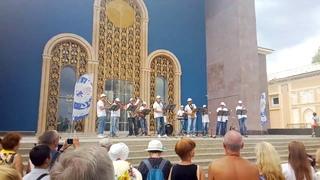 Оркестр г Чебоксары, выступление на ВДНХ 05 08 18, часть 1
