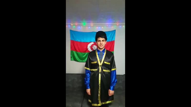 Интигам Абдуллаев участник ТГОО Лига азербайджанцев