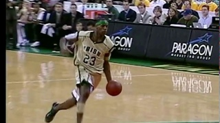 Lebron James 17 years old highest jump in high school