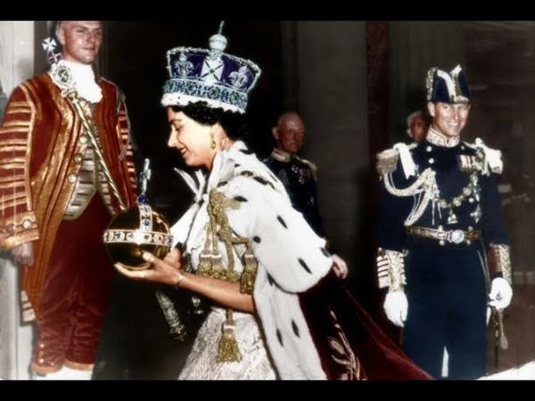 Коронация Елизаветы 2 1953 год Документальный фильм The Coronation of Queen Elizabeth II