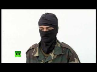 Украинский военнослужащий перешедший на территорию России