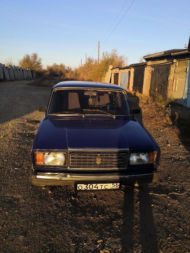 Купить ваз 2107 2001г цена 40 торг,   Объявления Орска и Новотроицка №10931