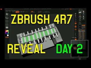 ZBrush 4R7 64bit REVEAL DAY 2 (Full Demo HD)