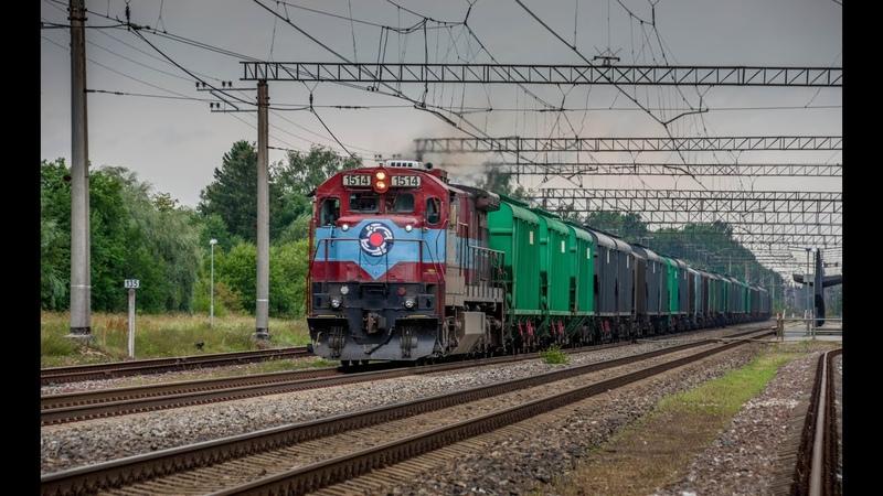 EVR C36 7i 1514 passing Raasiku railway station