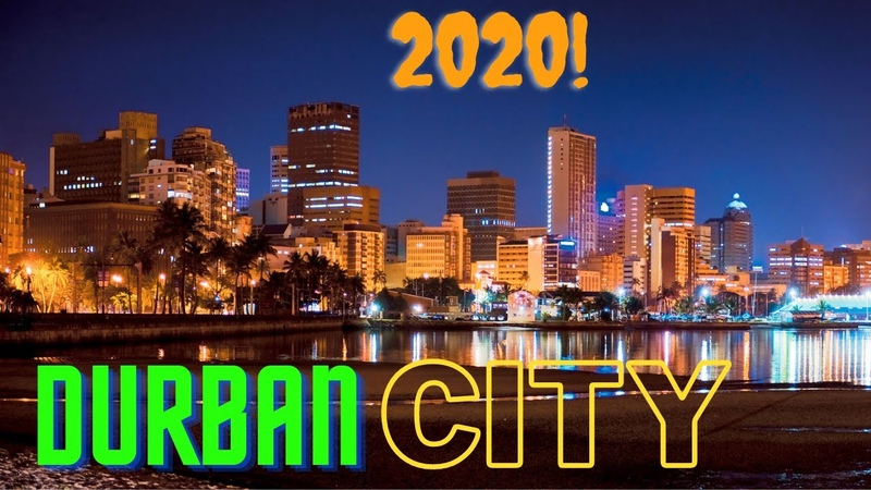 Durban City view in 2020Africas biggest port city