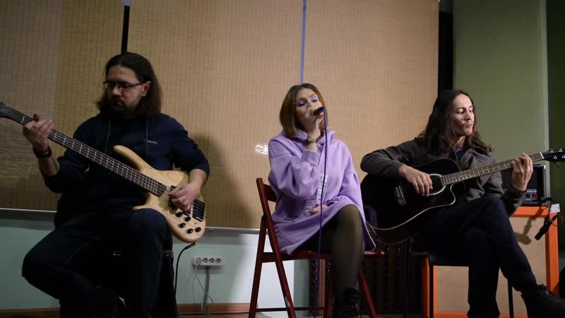Delirium Inspiration She Wolf Rehearsal acoustic live sound