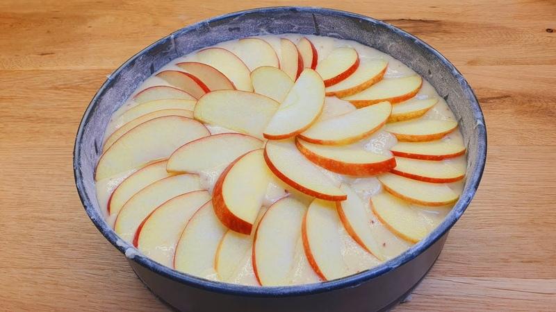 Genau das schnellste und einfachste Apfelkuchen Rezept das jeder machen kann 175