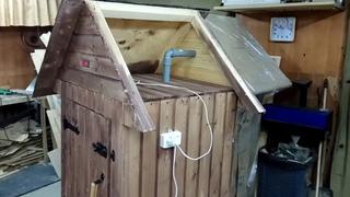 Дымоход для деревянной коптильни