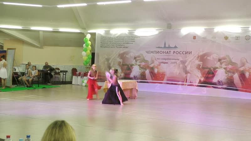 Танцевальное шоу Чемпионат России Юниоры дуэты полуфинал