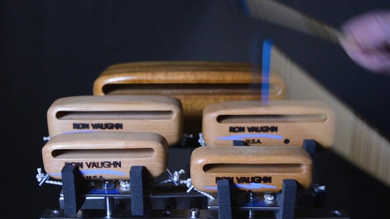 Ron Vaughn Piccolo Blocks and PBM 1R mallet sound sample