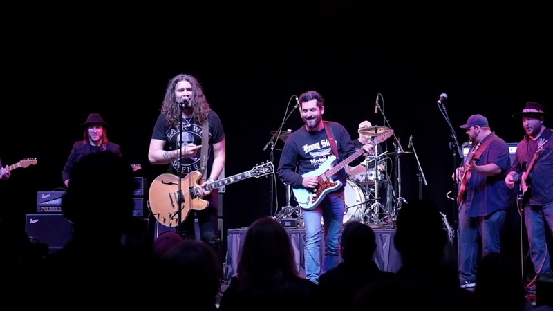 Funk 49 Jam with Ariel Posen Josh Smith Andy Timmons Phil X Andy Wood Mark Lettieri