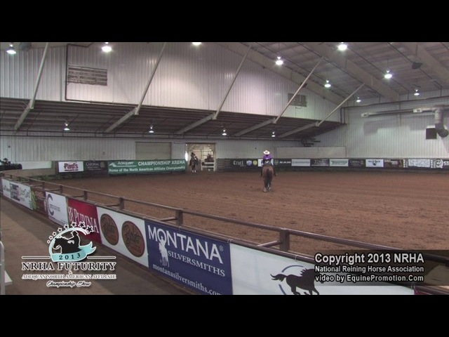 Adequan NAAC Limited Non Pro Champion - Tagged My Chic, ridden and owned by Kaylan Marks - 218.0