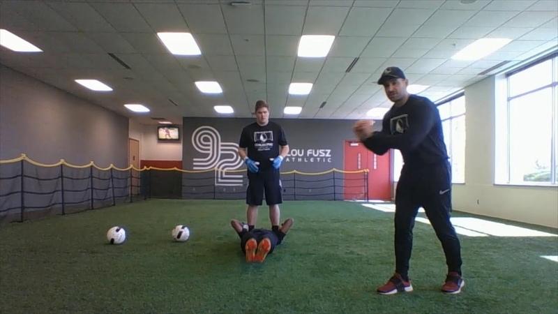 @Home Goalkeeper Training Partner Session Goalkeeper Plyo and Core Strengthening