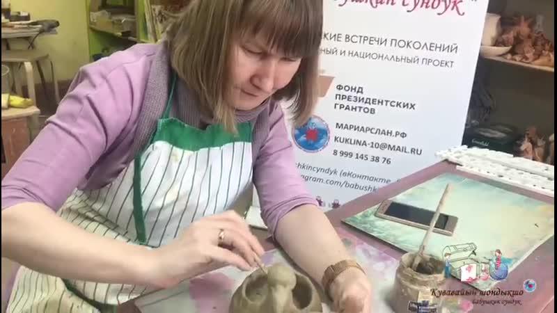 Мастер-класс в Музее керамики 14.02.2020