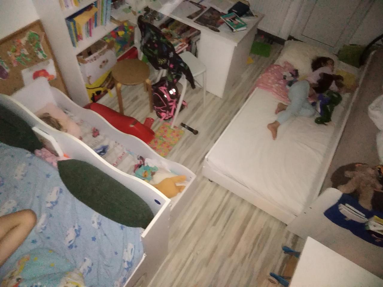 Квартира-студия 35 метров для шестерых