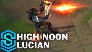 High Noon Lucian Skin Spotlight - League of Legends