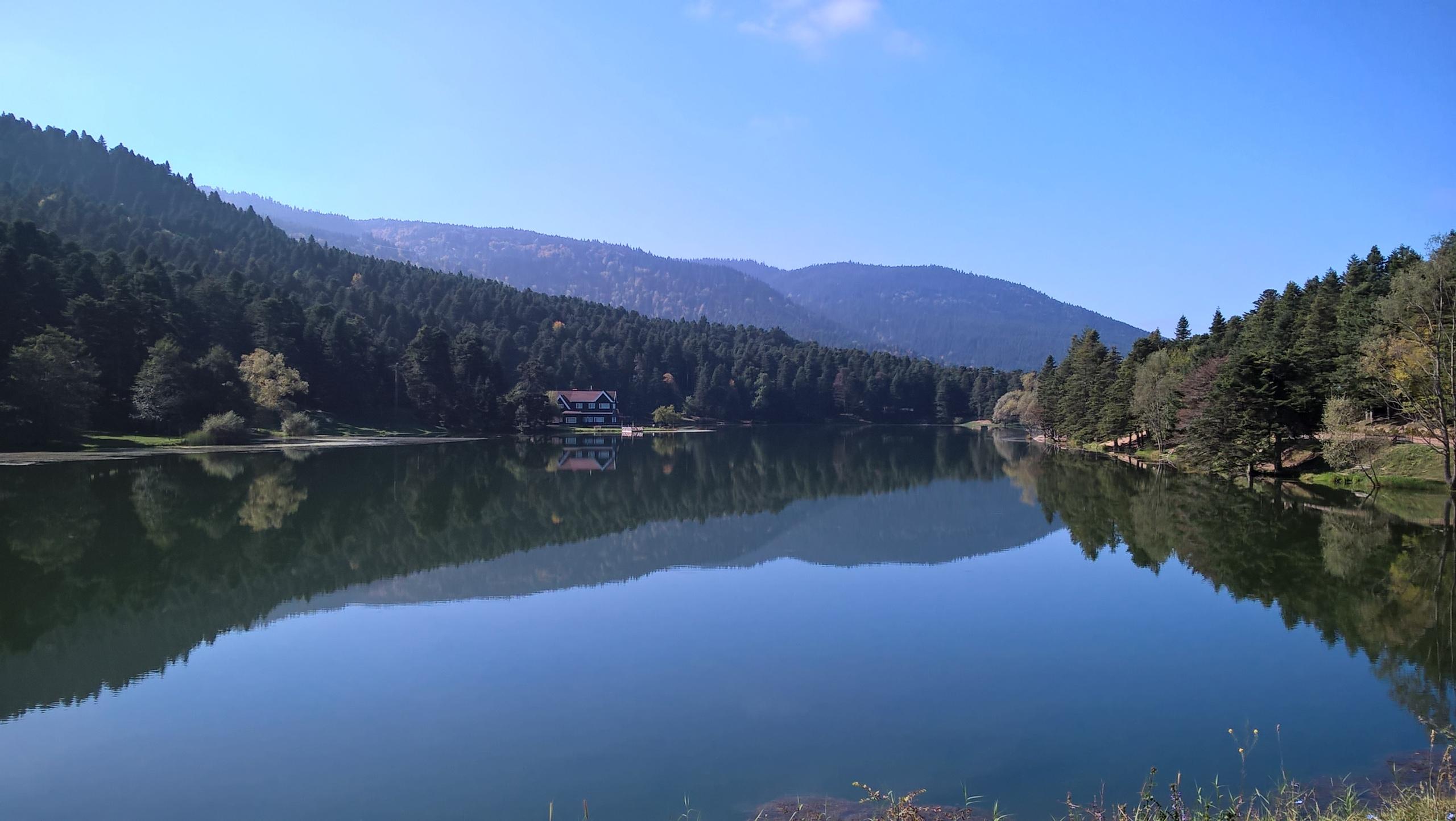 Озеро Гёлчук южнее Болу