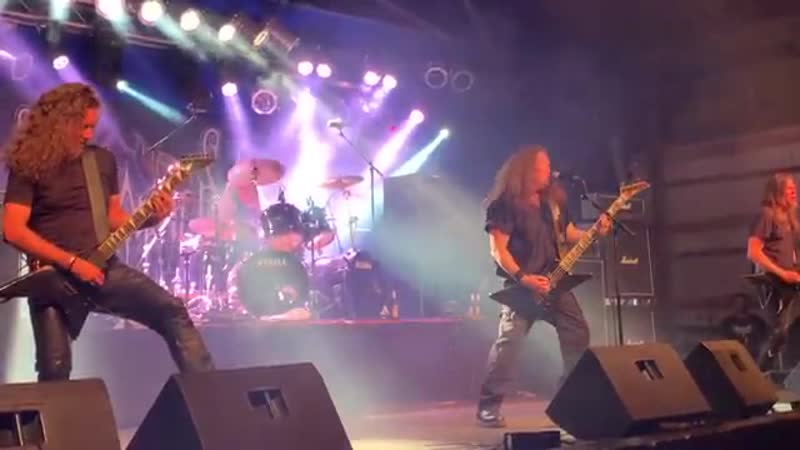 UNLEASHED Swe Live Full Show Death Metal In Flammen Open Air 2019 Deut