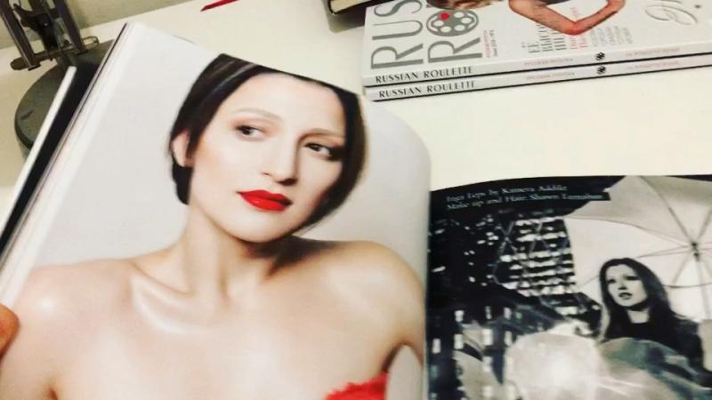 Inga Leps by Kamera Addikt for Russian Roulette magazine
