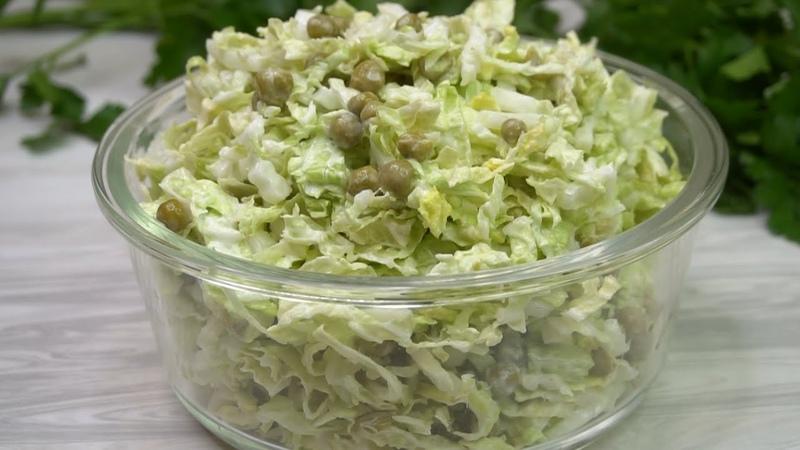 Салат на каждый день готовлю его постоянно и не надоедает Вместо майонеза заправка😋