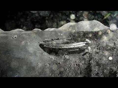 UFO un énorme ovni entrant dans la Lune du 09 05 2017