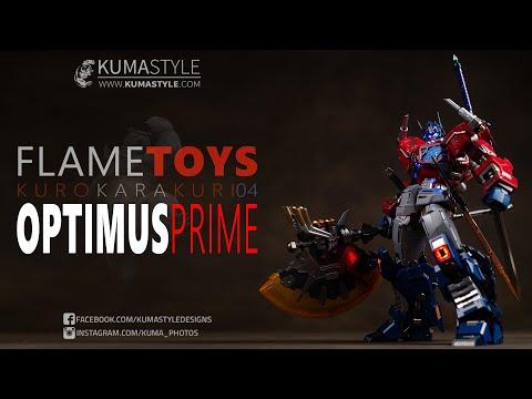 Review Flame Toys Kuro Kara Kuri 04 Optimus Prime