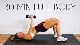 30 min FULL BODY SCULPT At Home (NO JUMPING, Warm up & Cool Down Included)