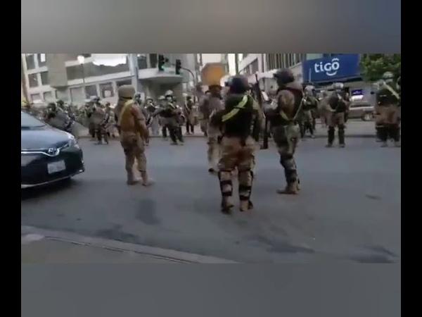 Южная Америка Протесты в Боливии
