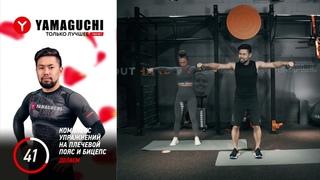 Упражнение с гантелями. Упражнение №2 Комплекс упражнений на плечевой пояс и бицепс.