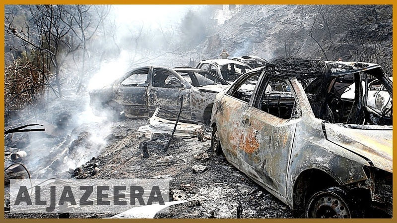 Forest wildfires: Europe sending help to Lebanon