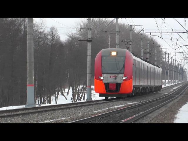 ЭС1-020 Ласточка Смоленск - Москва