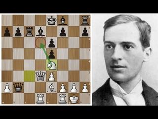 Гарри ПИЛЬСБЕРИ проводит сокрушительную АТАКУ на короля Ласкера! Шахматы.