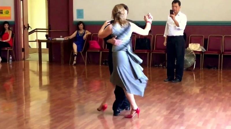 Argentine Tango Gancho Variations Leg wrap 7 30 2017