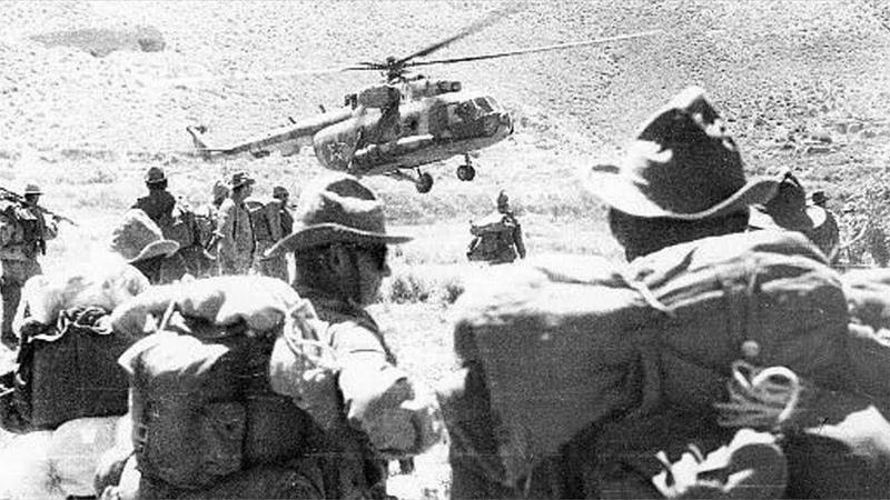 Воспоминания Офицера Вертолётного полка Война в Афганистане 1979 1989