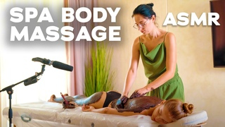 ASMR | MASSAGE | asmr chocolate spa body massage | asmr treatment